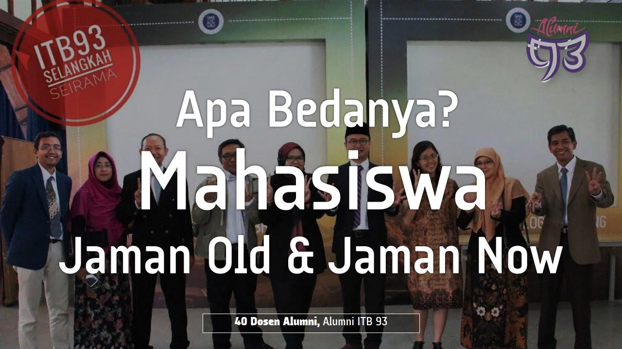 40 Dosen ITB Alumni Angkatan 1993