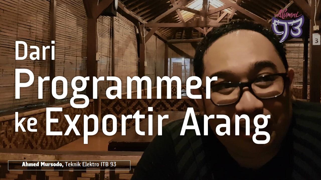 Dari Programmer Komputer ke Eksportir Arang