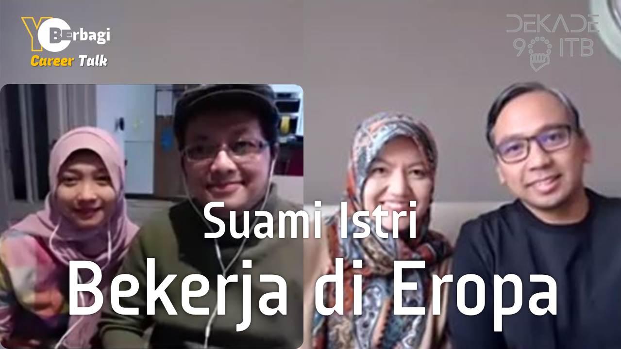 Diaspora Indonesia Suami Istri Bekerja di Belanda dan Inggris