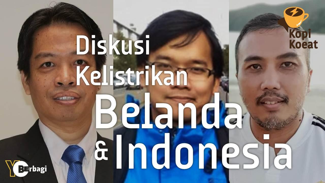 Diskusi Kelistrikan Indonesia dan Belanda