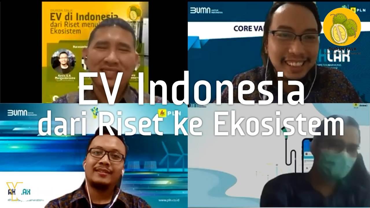 EV di Indonesia dari Riset menuju Ekosistem