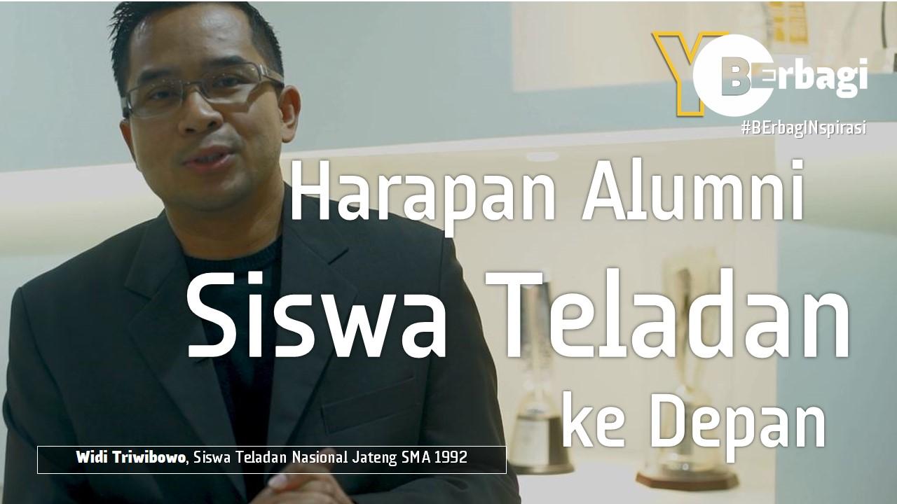 Harapan Alumni Siswa Teladan untuk Indonesia Masa Depan