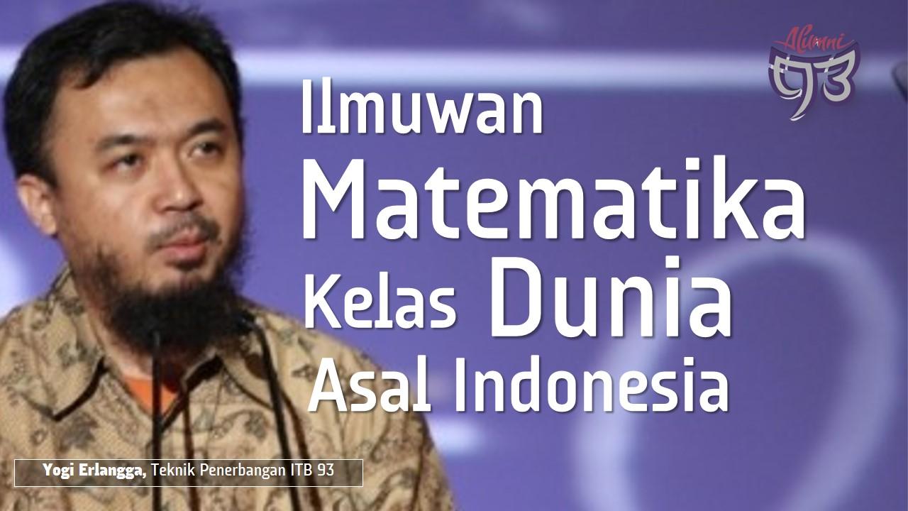 Ilmuwan Indonesia Pakar Persamaan Helmholtz
