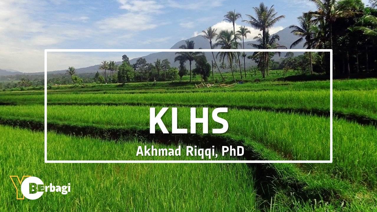 Kajian Lingkungan Hidup Strategi (KLHS)