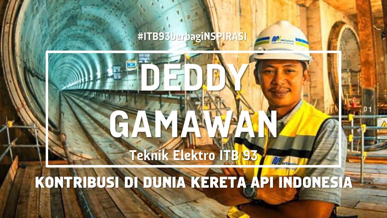 Kontribusi Membangun Per-Kereta-Api-an Indonesia