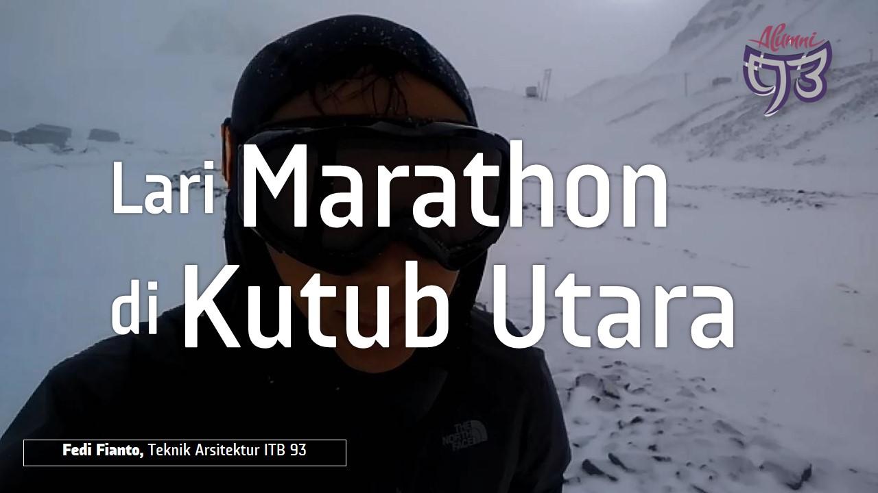 Lari Maraton di Kutub Utara