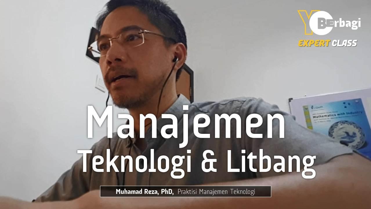 Manajemen Teknologi, Riset & Pengembangan di Korporasi dan Startups