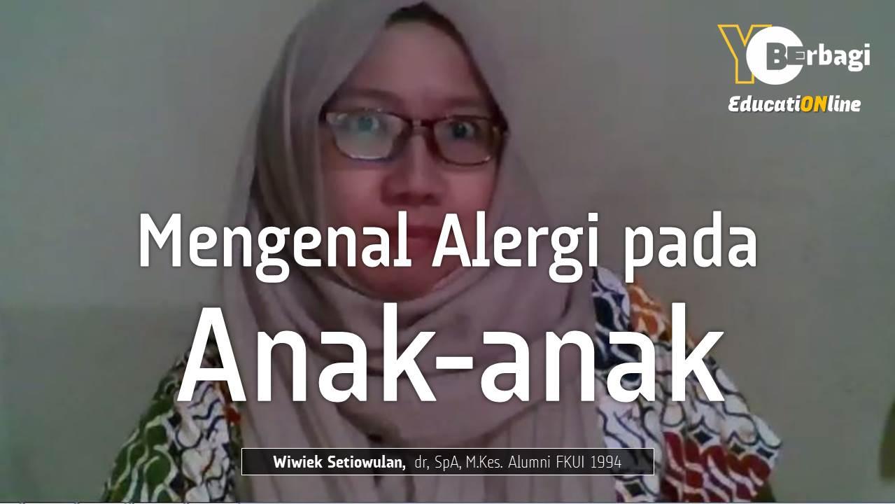 Mekanis, Tanda dan Gejala Alergi pada Anak