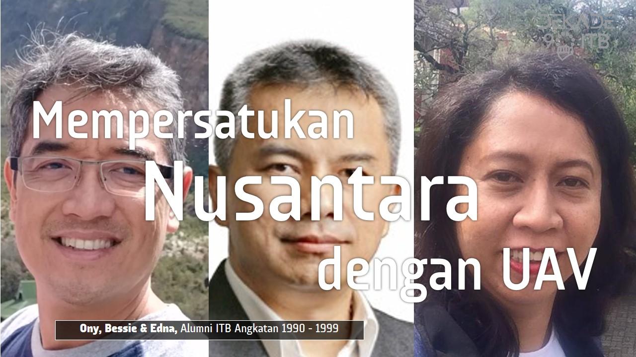 Mempersatukan Nusantara dengan UAV