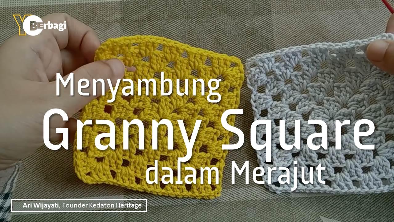 Menyambung Granny Square