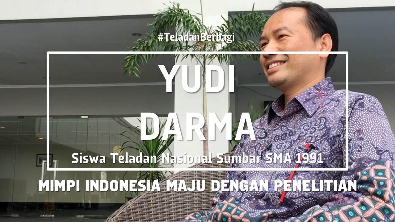 Mimpi Indonesia Maju dengan Penelitian