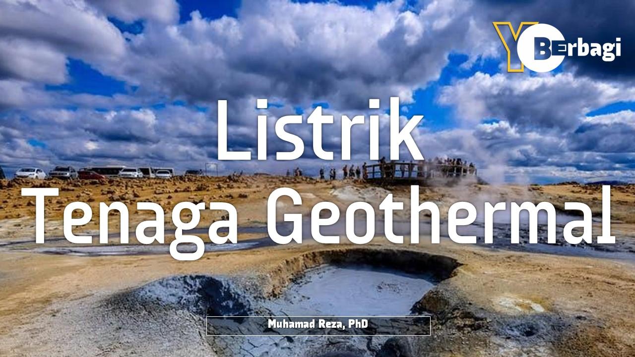 Pembangkit Listrik Tenaga Geothermal