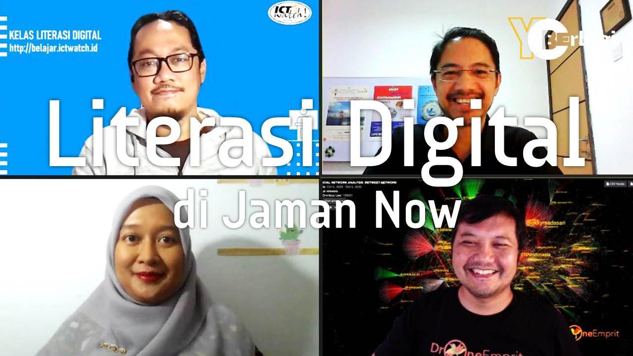 Pentingnya Literasi Digital untuk Keluarga Jaman Now