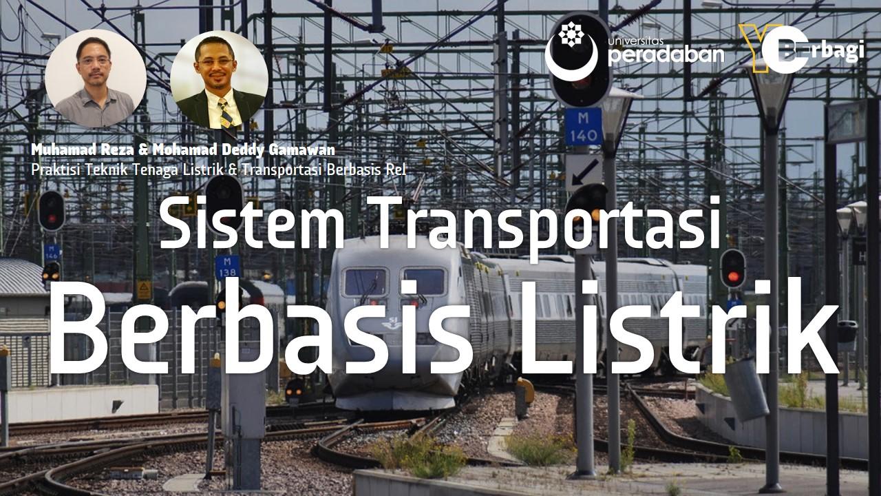 Sistem Transportasi Berbasis Listrik