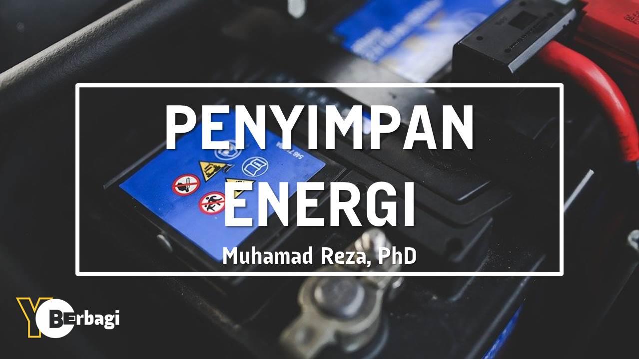 Teknologi Penyimpan Energi