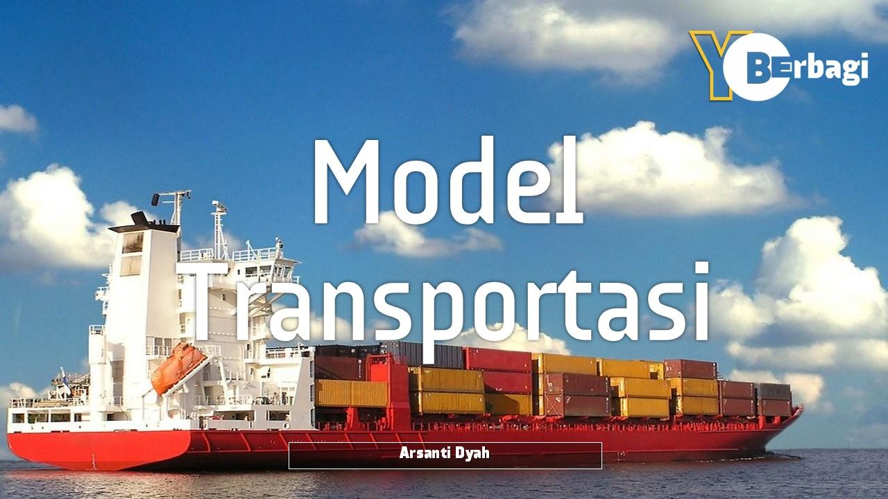 Transportasi, Alih Muat, Penugasan